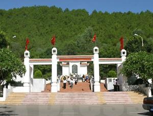 Cổng vào nghĩa trang