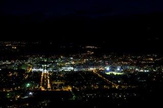 Canberra, Australia, trước và trong Giờ Trái Đất