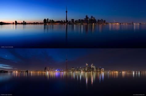 Toronto, Canada, trong và trước Giờ Trái Đất