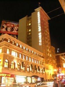 Earth Hour -- Chancellor Hotel San Francisco