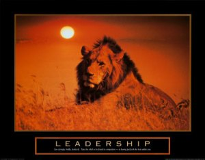 leadership-lion-posters