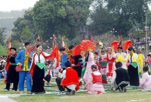 Múa Sạp ở Lào Cai