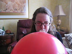 blowing-balloon