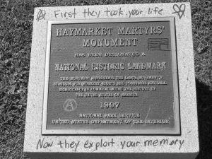 Bảng Di Tích Lịch Sử tại Haymarket ngày nay