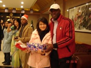 Lưu học sinh các nước -- Noel 2008