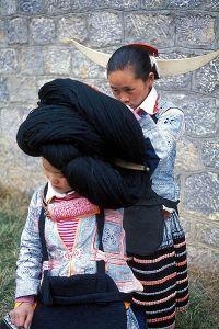 Sắc tộc Miêu Sừng Dài ở Quý Châu
