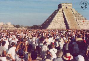 Di tích đền Chichen-itza của người Maya