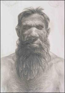 Người tiền sử Neanderthal, anh em họ với loài người hiện nay.