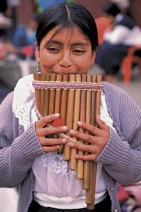 Panpipe (sáo tập) từ Ecuador