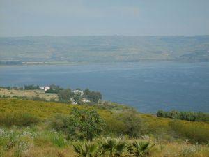 Mount of Beatitudes, Đồi cùa (bài giảng) Hạng Phúc Thật, Capernaum và Biển Galilee (Do Thái)
