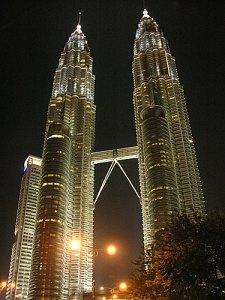 Twin Tower ở thủ đô Kuala Lumpur