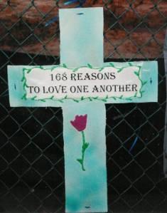 Thánh giá tại đài tưởng niệm Oklahoma