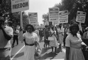 Freedom March, Washington DC 1963