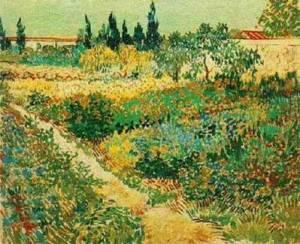 Floering garden-Van Gogh