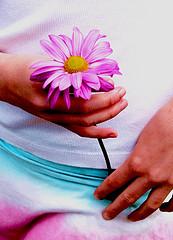 holdingflower