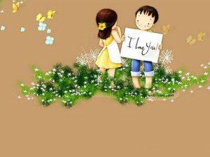 say love