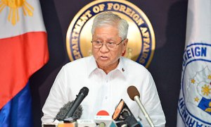 Albert del Rosario, foreign secretary of the Philippines
