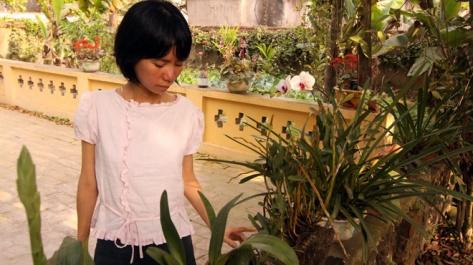 Bệnh tật không quật ngã được Bích Lan- Ảnh: Quốc Việt
