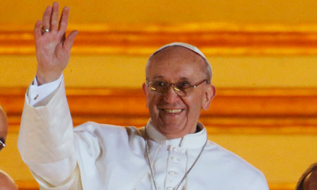 Pope Francis, 13/3/13