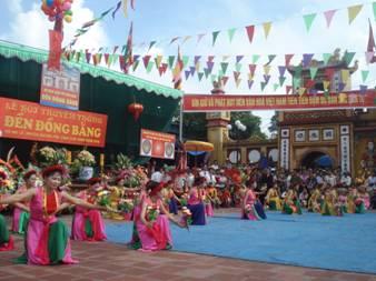 Lễ hội Đền Đồng Bằng thờ vua Cha Bát Hải Đại Vương