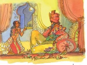 Scheherazade và Quốc vương Sharyar