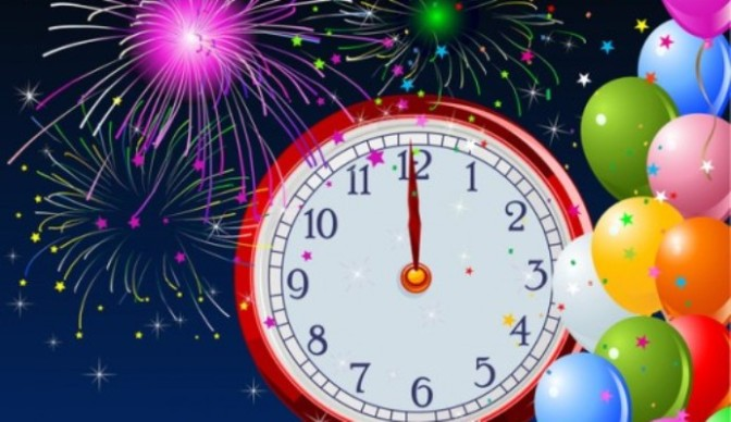 New-Year-Midnight-clock