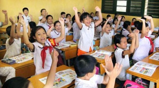 Lớp tiểu học như chính phủ liên bang