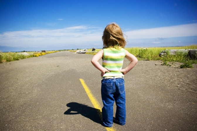 girl-on-road