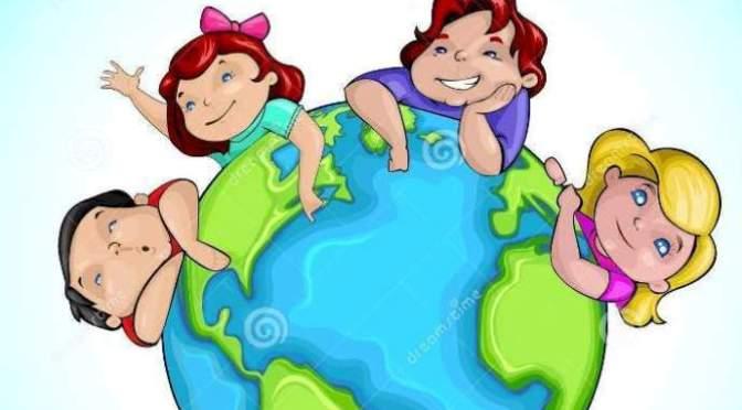 Những đứa trẻ của mẹ trái đất