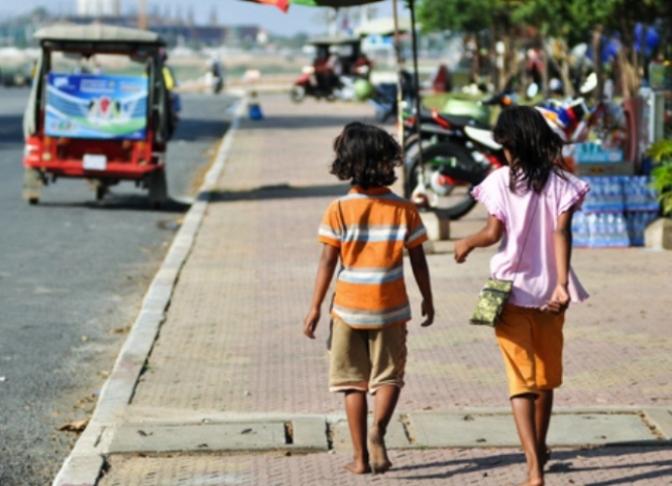Những đứa trẻ gặp trên đường