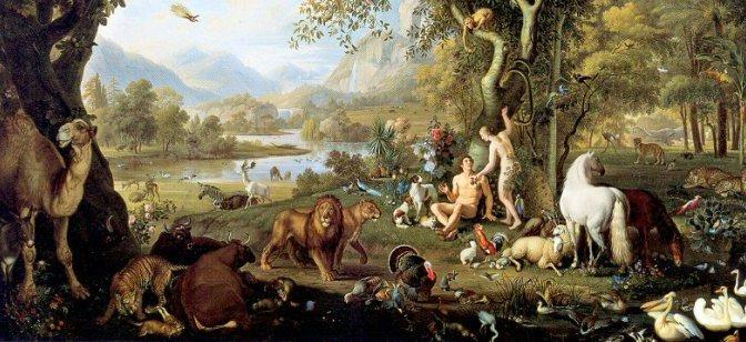 Khiêm tốn trong vườn địa đàng