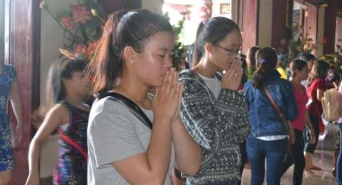 Cầu nguyện trong Phật giáo