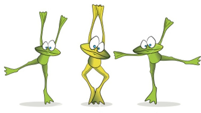 ist2_5958430-dancing-cartoon-frogs-collection