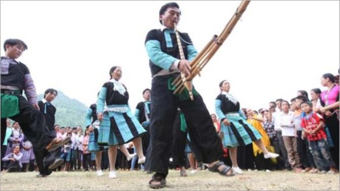 Độc đáo Tết Độc lập của người Mông ở Tây Bắc