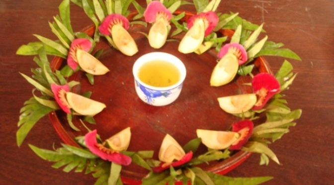 Offering betel  – Vietnamese folk song