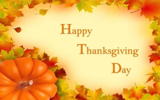Mừng Lễ Tạ ơn