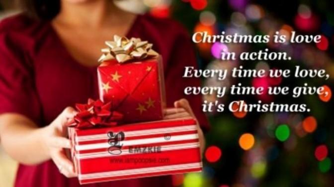 Chúng ta là biểu tượng Giáng sinh