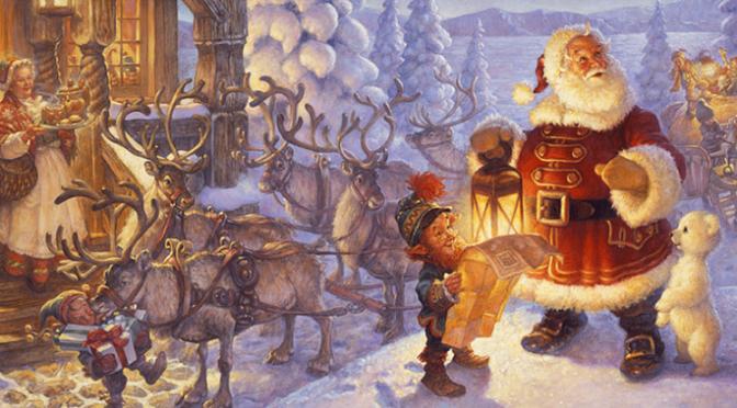 Sự tích Santa Claus (ông già Noel)