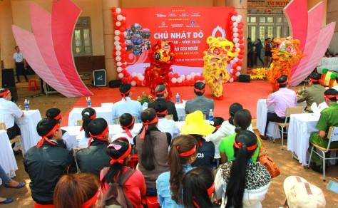 Đúng 13h khai mạc chương trình Chữ Nhật Đỏ tại Đắk Lắk