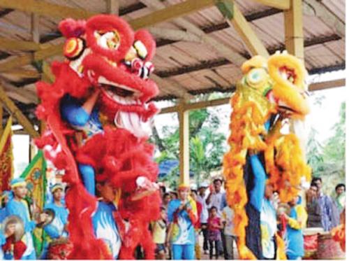 Lễ rước sắc thần hoàng Nguyễn Hữu Cảnh tại đình Thường Thạnh thuộc phường Thường Thạnh, quận Cái Răng (TP Cần Thơ)