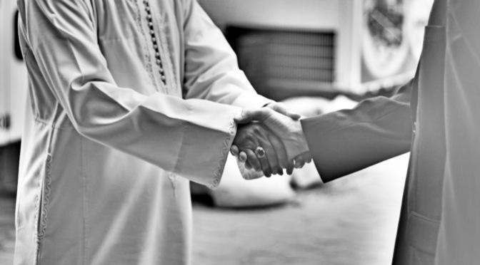 As-salamu alaykum – bình an ở cùng bạn