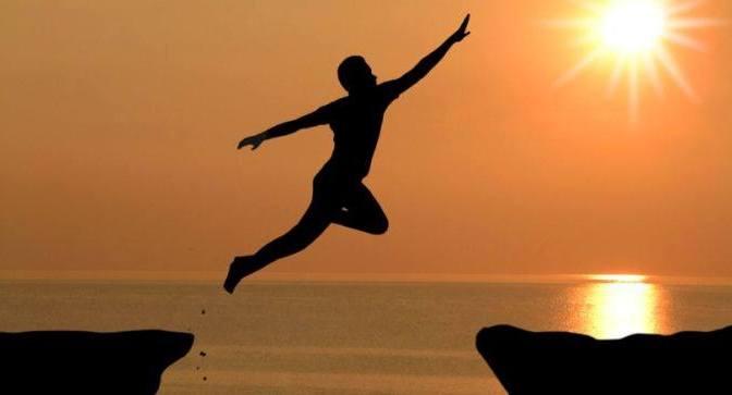 A leap of faith – Bước nhảy của lòng tin