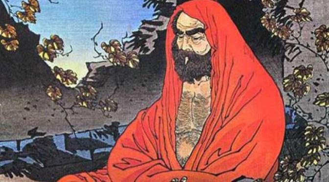 Bồ Đề Đạt Ma với Lương Vũ Đế và Huệ Khả