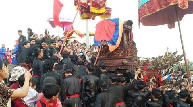 Vui xuân 2015 và lễ hội ở xã Minh Khai – Hoài Đức – Hà Nội