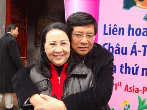 Đôi uyên ương nhà thơ Nguyễn Nguyên Bảy và nhà thơ Lý Phương Liên