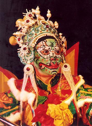 Cố nghệ sĩ La Cẩm Vân trong vai Chung Vô Diệm