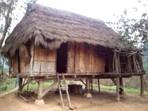 Nguyên mẫu nhà sàn truyền thống Bru-Vân Kiều còn sót lại ở bản KaLu