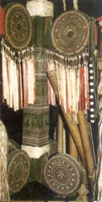 Cột phướn người Cor