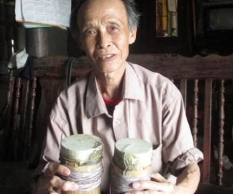 Ông Nguyễn Văn Đài - nghệ nhân làm Ống.