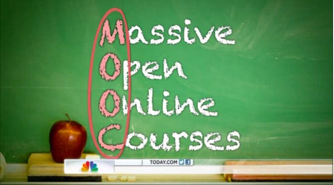 Học tiếng Anh và Học online miễn phí – Massive open online course